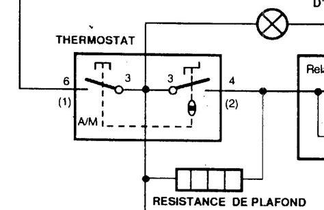 thermostat cuisine shunter thermostat frigo ustensiles de cuisine