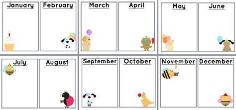 Birthday Chart Template For Classroom by And Teaching Free Printable Birthday Chart