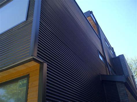 corrugated metal siding  residential home recherche