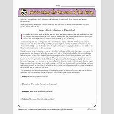 Discovering The Elements Of The Story Worksheet