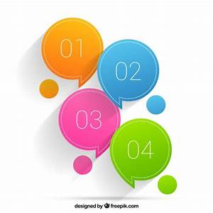 Colored speech bubbles Vector   Free Download
