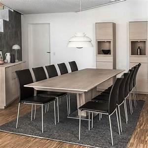 Table Bois Naturel : table en bois moderne extensible avec pied central sm39 ~ Teatrodelosmanantiales.com Idées de Décoration