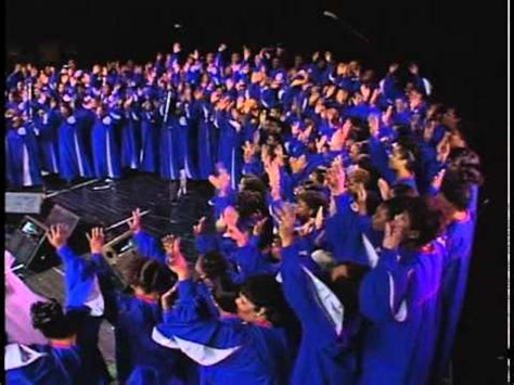 Detroit Mass Choir  The Storm Is Passing Over Funnycattv