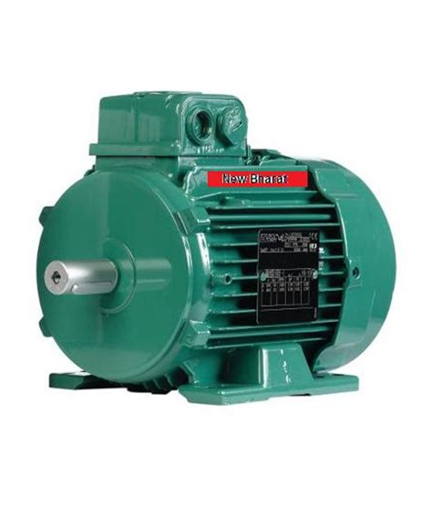 New Ac Motor by Buy New Bharat 1hp 1440 Rpm Ac Motor At Low Price