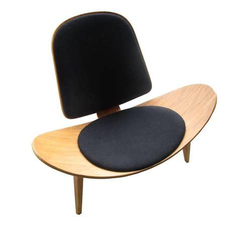 vintage midcentury hans wegner skalstol shell chair for