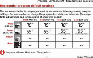 Honeywell Th6000r01 Programmable Thermostat User Manual 69