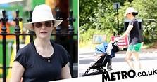 Rachel Weisz enjoys stroll in London sun with her baby ...