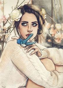 Lana Del Rey artwork by Helen Green | Artsy Inspiration ...