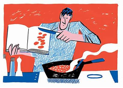 Cooking York Asian American Illustration Nyt Times