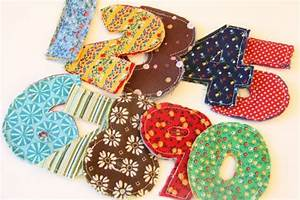 17 best images about fabric letters on pinterest strudel With fabric magnetic alphabet letters