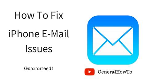 mail not working on iphone how to fix iphone e mail issues youtube Mail