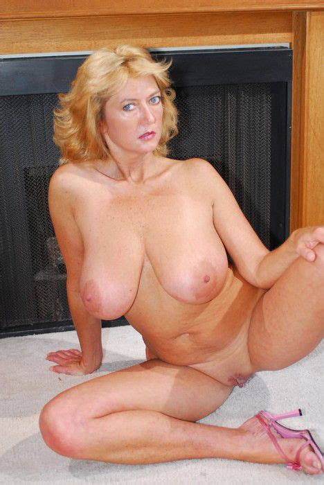 Naked Fifty Year Old With Blonde Hair And Huge Tits From