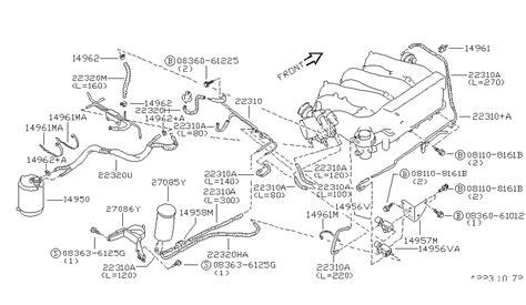 Diagram Of A 97 Maxima Engine by 14957 97e10 Genuine Nissan 1495797e10 Bracket Solenoid