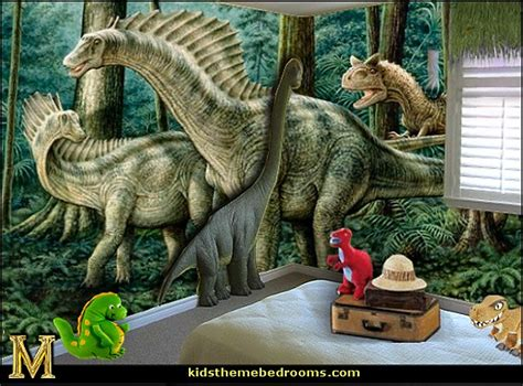 Decorating Ideas For Dinosaur Bedroom by Decorating Theme Bedrooms Maries Manor Dinosaurs