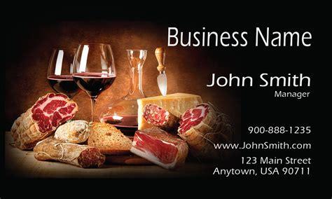 catering business cards  templates printifycardscom