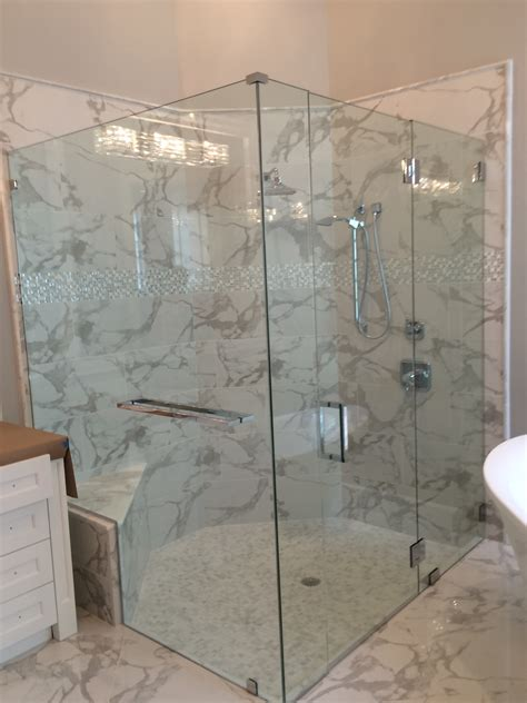 Which Options For Frameless Shower Doors?  The Glass