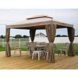Mosquito Netting For Patio Umbrella by Costco Canada Replacement Gazebo Canopy Garden Winds Canada