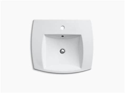 kohler kelston drop in sink kelston drop in sink with single faucet hole k 2381 1