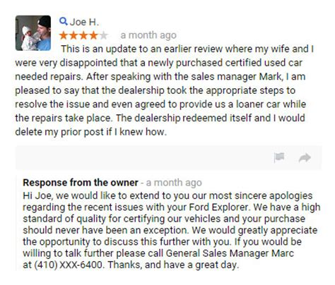 How To Respond To Positive And Negative Reviews [template]