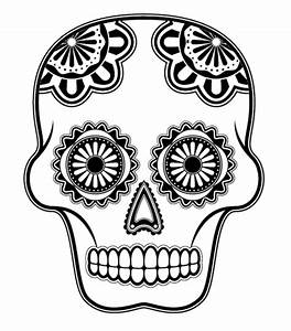 day of the dead skull mask template sketch coloring page With day of the dead skull mask template