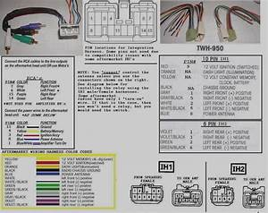 Alpine Wiring Harness Color Code