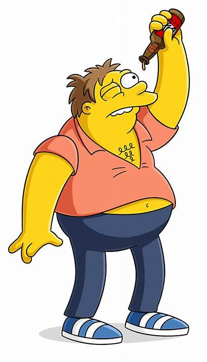 Simpsons Barney Characters Gumble Simpson Character Homer