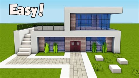 Modernes Haus Minecraft Klein by Minecraft How To Build A Small Easy Modern House