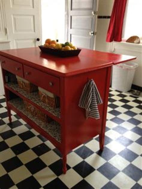dresser turned kitchen island refinishing inspiration