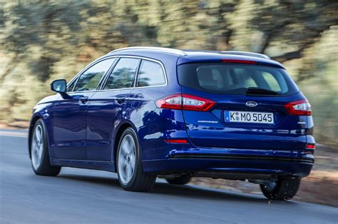 2014 Ford Mondeo Estate 1.5t Ecoboost First Drive Review