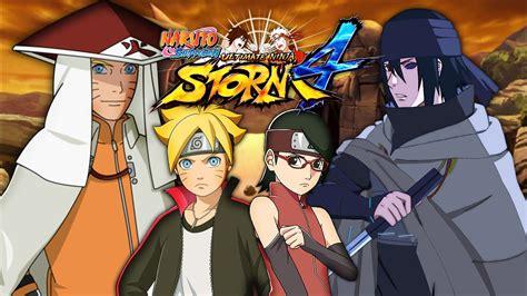 Hokage Naruto & Boruto Vs Sasuke & Sarada
