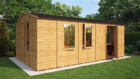 It will need some work on the siding but would make a great chicken coop or repair and use for dry storage of lawn equipment. Wooden Garden Shed Premium Heavy Duty 11mm T&G Shiplap ...