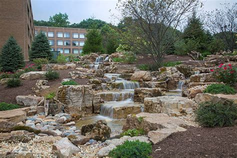 Aquascape St Charles by Commercial Waterfall Design Aquascape Construction