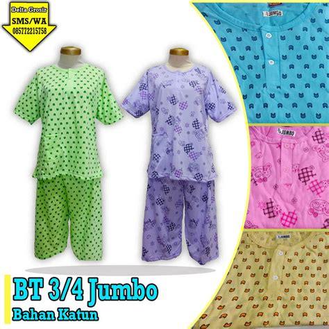 Baju Tidur 3 4 Monkey pabrik baju tidur 3 4 dewasa murah kulakan baju