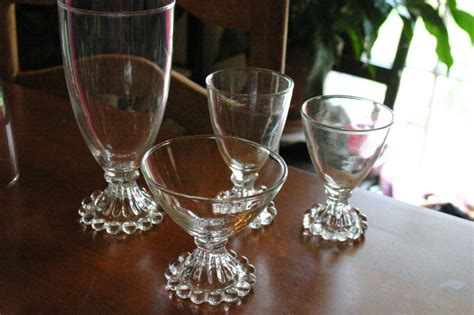 boopie candlewick berwick glassware glass difference between glasses