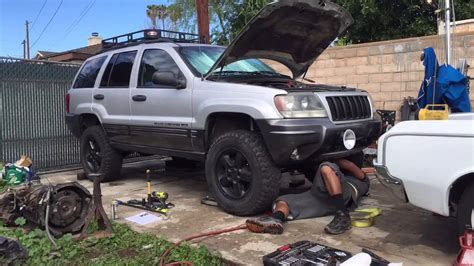 jeep grand wj jeep grand wj country arm install time lapse