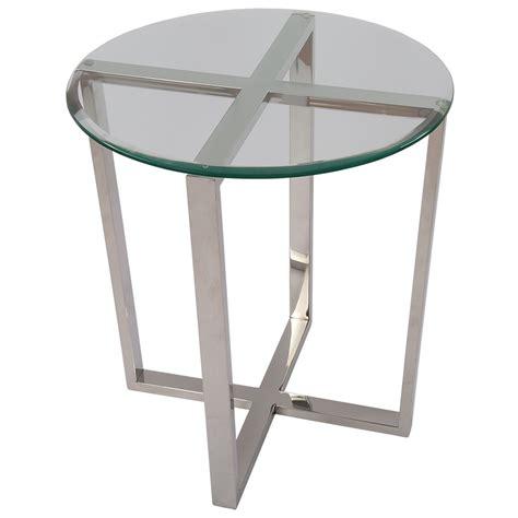 Tisch Rund Metall by Beistelltisch Rund Glas Metall Tisch Glas Verchromt