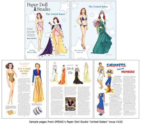 Opdag  Paper Doll Studio Magazine Issue 102 [the United