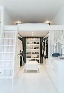 Bett Mit Kleiderschrank : 1001 ideen f r offener kleiderschrank tolle wohnideen ~ Watch28wear.com Haus und Dekorationen