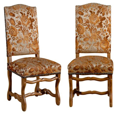 set   country french dining chairs  stdibs