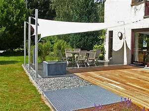 Sonnensegel Für Terrasse : sonnensegel als sonnenschutz f r die terrasse 44 ideen ~ Sanjose-hotels-ca.com Haus und Dekorationen