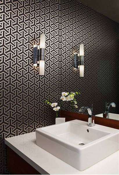 Powder Modern Gold Interior Contemporary Wallpapers Rooms