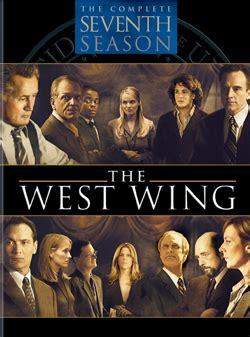 west wing season  wikipedia