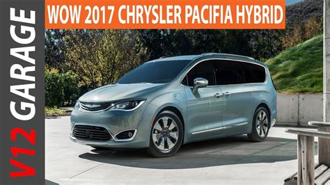 Chrysler Pacifica Mpg by 2017 Chrysler Pacifica Hybrid Mpg Review And Specs