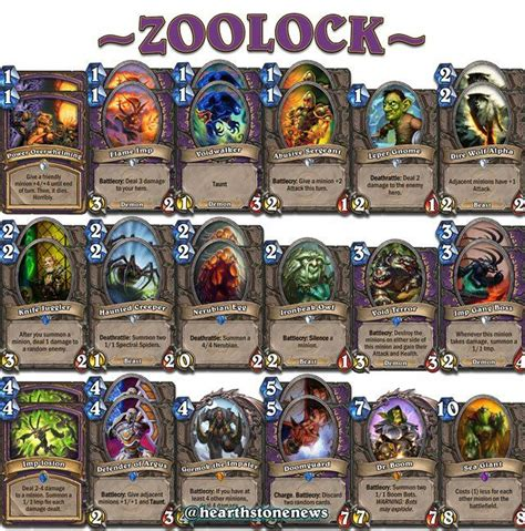 17 Best Images About Hearthstone Decks On Pinterest