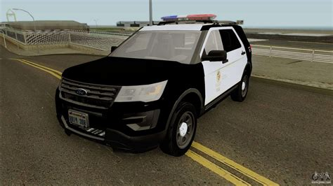 Ford Utility by Ford Interceptor Utility Lspd 2016 For Gta San Andreas