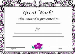 good job certificate template business plan template With good job certificate template