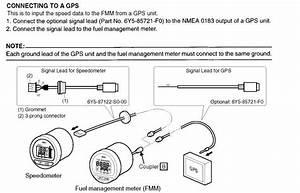 Yamaha Digital Guage Gps Input For Speed
