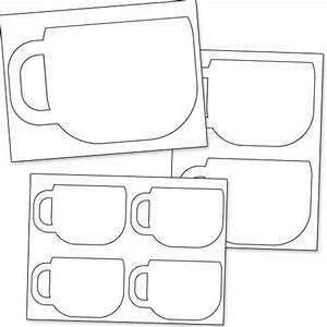 Free Printable Coffee Cup Stencils | Reading | Pinterest ...