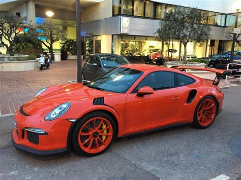 porsche 911 orange lava orange porsche 911 gt3 rs gets lava orange rims is