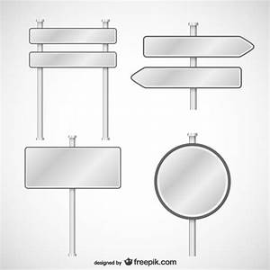 signs templates pack vector free download With sign templates free downloads